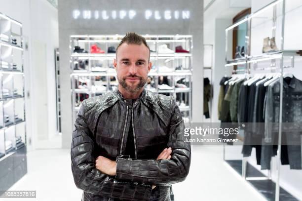 Philipp Plein attends the Philipp Plein boutique opening on December 21 2018 in Madrid Spain