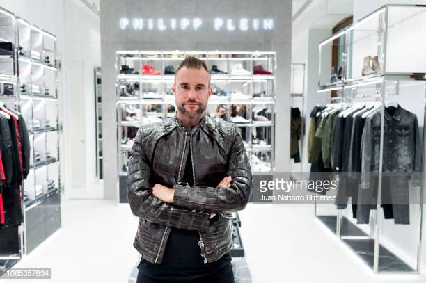 Philipp Plein attends the Philipp Plein boutique opening on December 21 2018 in Madrid Spain