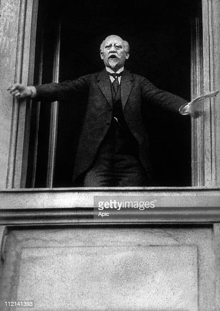 Philipp Scheidemann German politician he became in 1919 the first chancellor of the german republic here november 09 1918 during the proclamation of...
