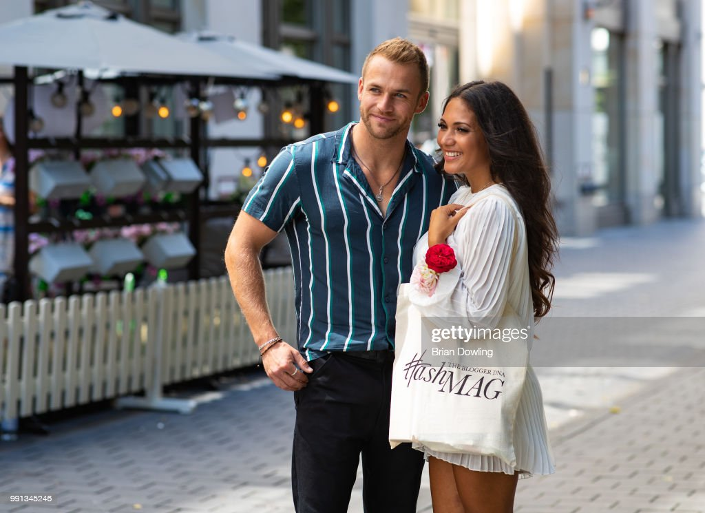 Philipp Stehler And Pamela Gil Mata Attends The Hashmag Blogger