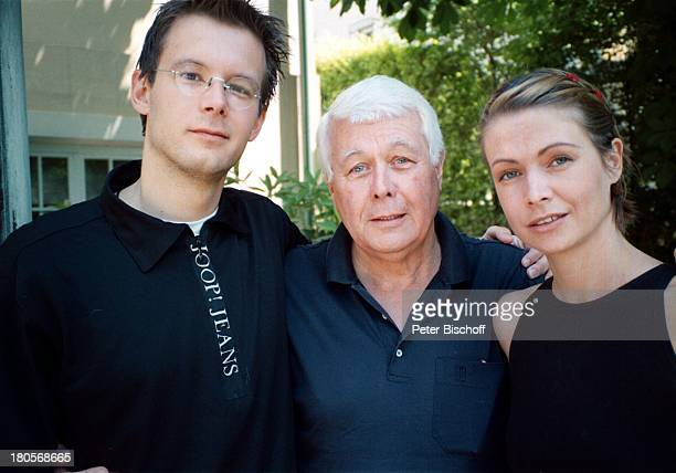 Philipp Weck Peter Weck Barbara Weck Homestory Wien Villa Garten Sohn Tochter Familie