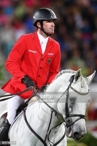 Philipp WEISHAUPT riding LB CONVALL during the Prize of North RhineWestphalia of the World Equestrian Festival on July 21 2017 in Aachen Germany