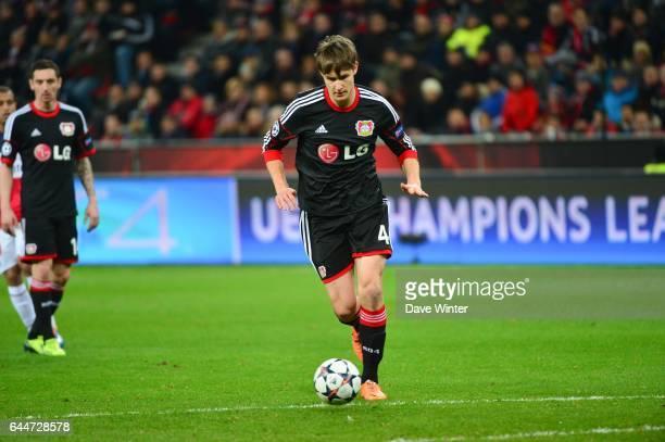 Philipp WOLLSCHEID Bayer Leverkusen / Paris Saint Germain 1/8emeFinale Aller Ligue des Champions Photo Dave Winter / Icon Sport