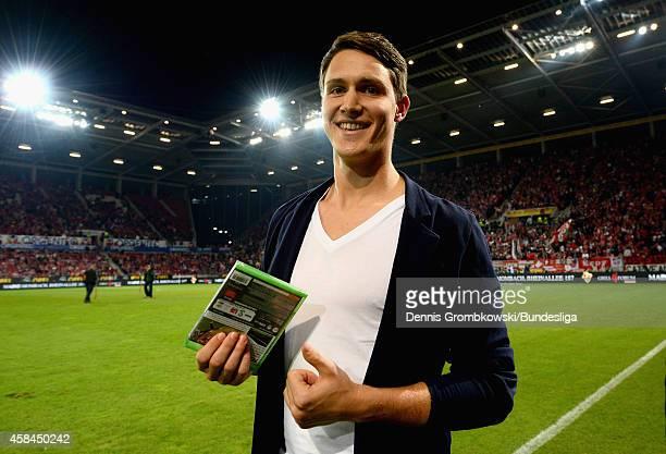 Philipp Wollscheid of 1 FSV Mainz 05 is seen during the Bundesliga match between 1 FSV Mainz 05 and TSG 1899 Hoffenheim at Coface Arena on September...