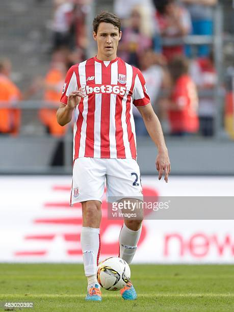 Philipp Wollscheid of Stoke City during the Colonia Cup match between FC Porto and Stoke City on August 2 2015 at the RheinEnergieStadion in Koln...
