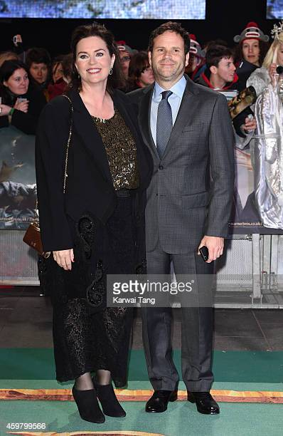 Philippa Boyens attends the World Premiere of 'The Hobbit The Battle OF The Five Armies' at Odeon Leicester Square on December 1 2014 in London...