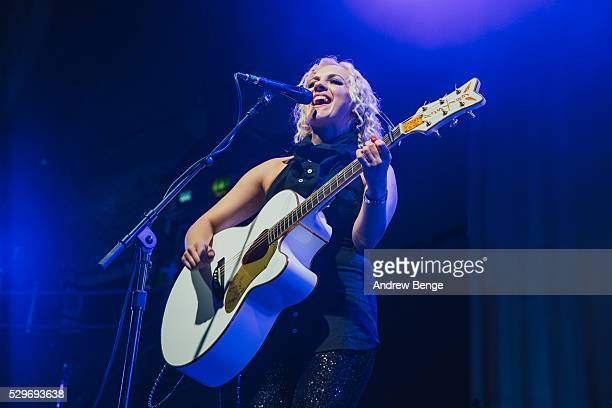 Philippa Hanna performs on stage at Albert Hall on May 5 2016 in Manchester England