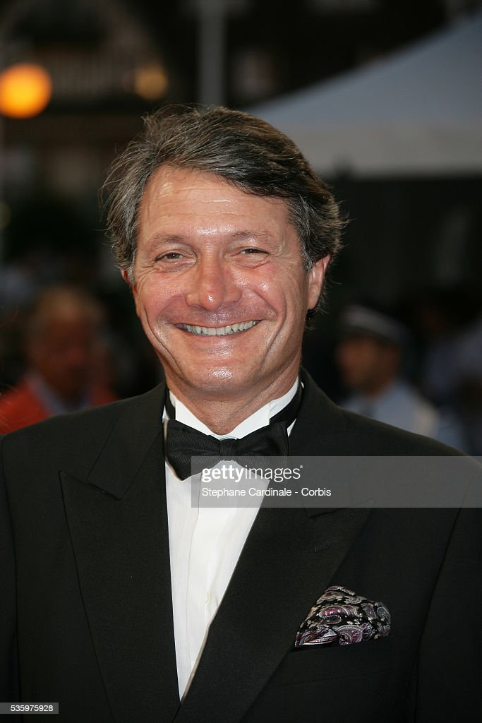 Philippe Augier (Mayor of Deauville) at the opening ceremony of the 31st American Deauville Film Festival.