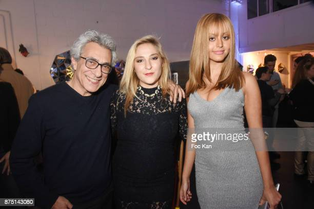 Philippe Berry Marilou Berry and Zahia Dehar attend the 'Second Life' By Le Diamantaire Private Exhibition Preview at Atelier Philippe Berry on...