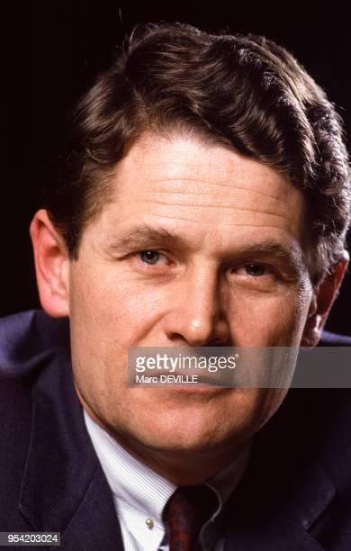 Philippe Bodson président de la Fédération des Entreprises Belges en février 1987 Belgique