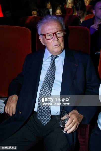 Philippe Bouvard attends the RTL RTL2 Fun Radio Press Conference to announce their TV Schedule for 2017/2018 at Elysee Biarritz at Cinema Elysee...