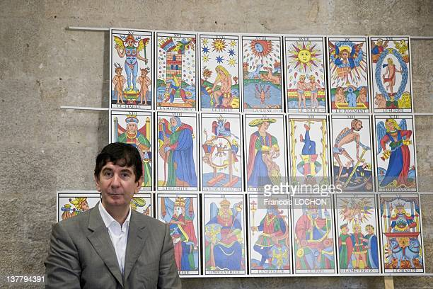 Philippe Camoin poses during a portrait session on September 2 2009 in Marseille France Philippe Camoin is the heir of the last Master Cardmakers of...