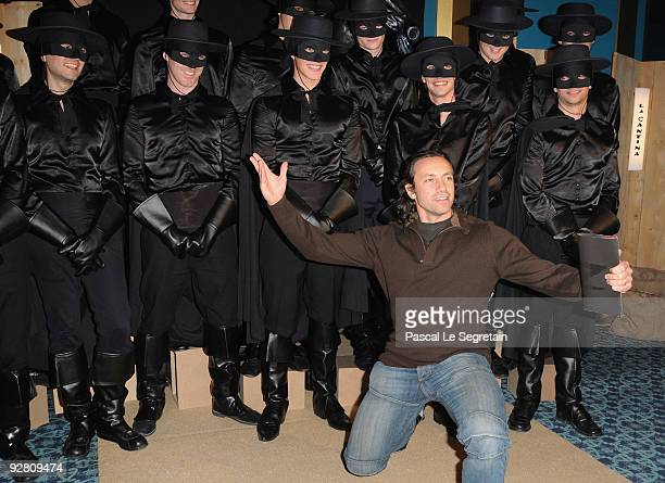 Philippe Candeloro attends the 'Zoro' Gala Premiere at Folies Bergeres on November 5 2009 in Paris France