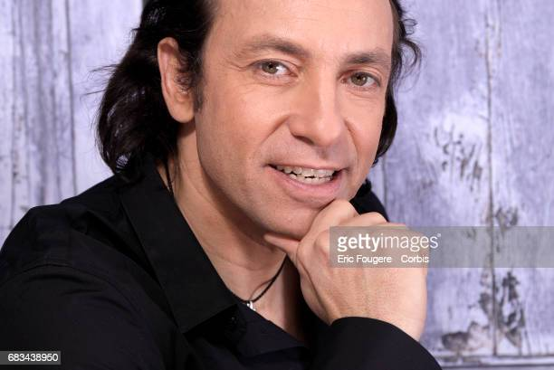 Philippe Candeloro during a portrait session in Paris France on