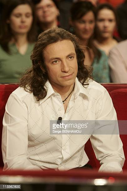 Philippe Candeloro On Vivement Dimanche Tv Show On February 7Th 2005 In Paris France