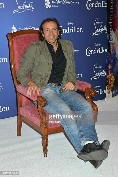 Philippe Candeloro poses during the 'Cinderella' Screening Hosted By Christian Louboutin at Grand Rex on September 25 2012 in Paris France