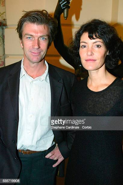 Philippe Caroit and Caroline Tresca.
