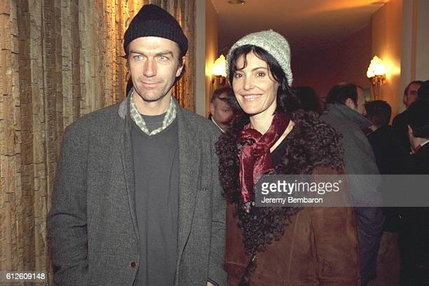 Philippe Caroit and his friend Caroline Tresca.