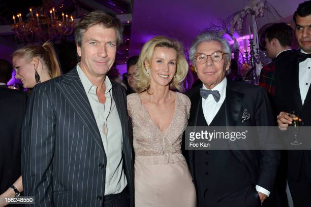 Philippe Caroit Laura Restelli Brizard and Jean Daniel Lorieux attend the The Bests Awards 2012 Ceremony at the Salons Hoche on December 11 2012 in...