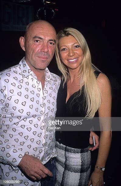 DJ Philippe Corti and Nadine Rodd