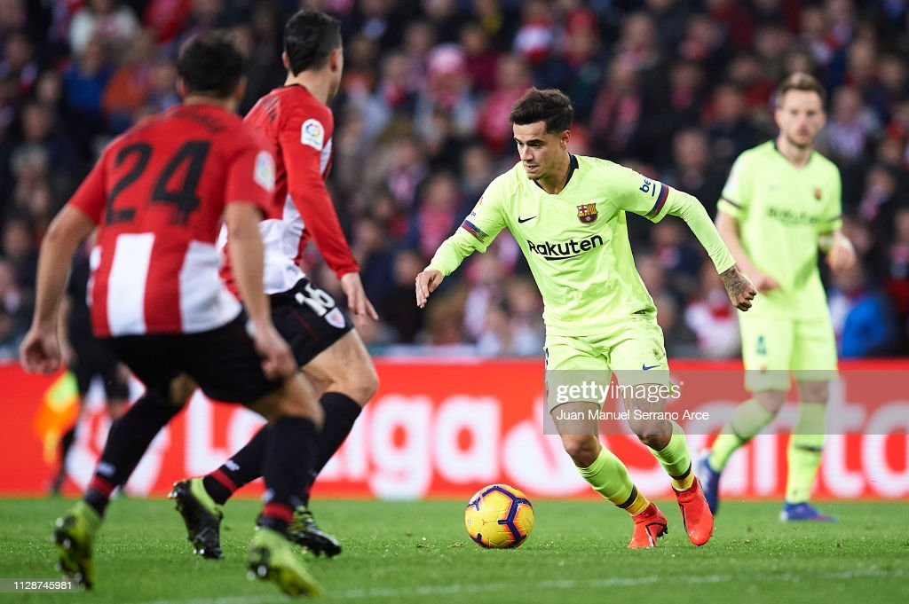 Athletic Club v FC Barcelona - La Liga : News Photo
