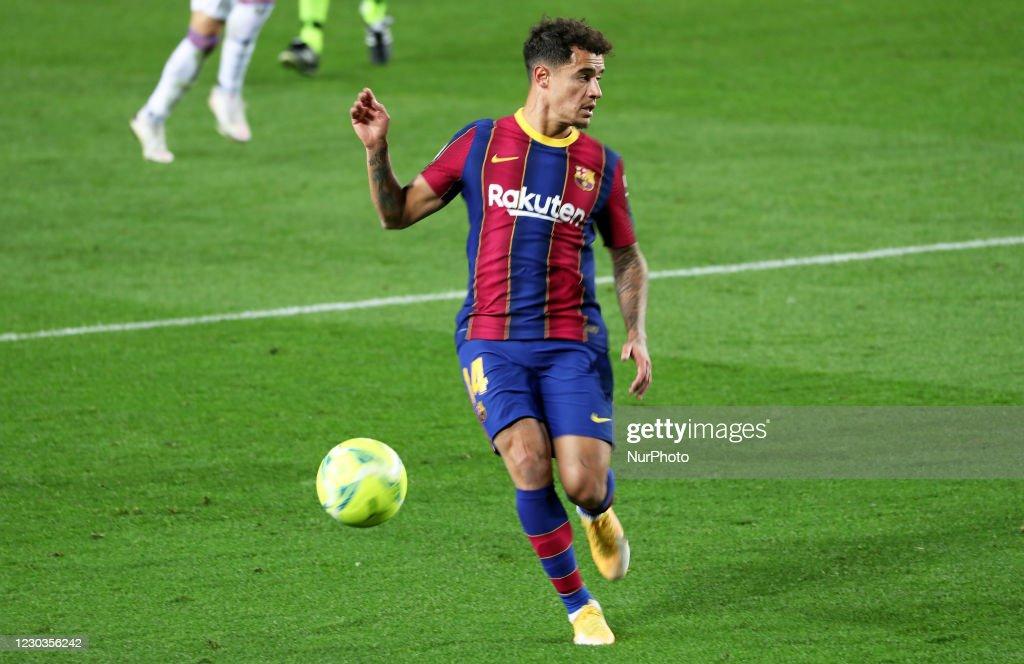 FC Barcelona v SD Eibar - La Liga Santander : Nyhetsfoto