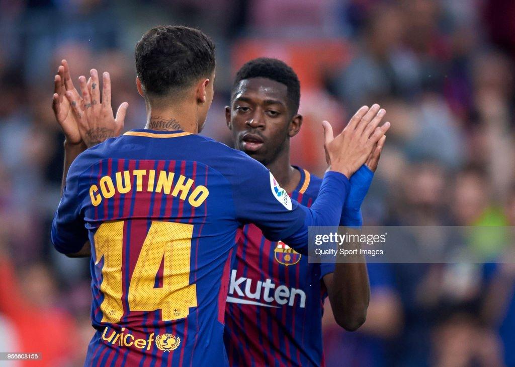 Barcelona v Villarreal - La Liga : News Photo