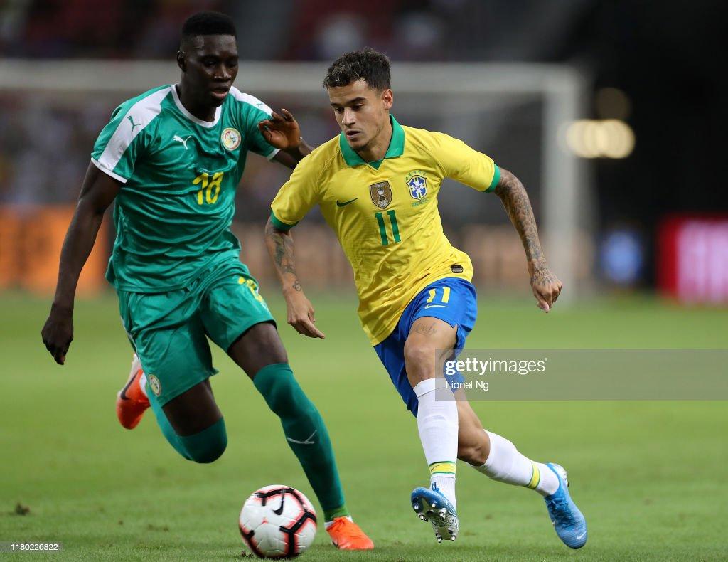 Brazil v Senegal - International Friendly : News Photo