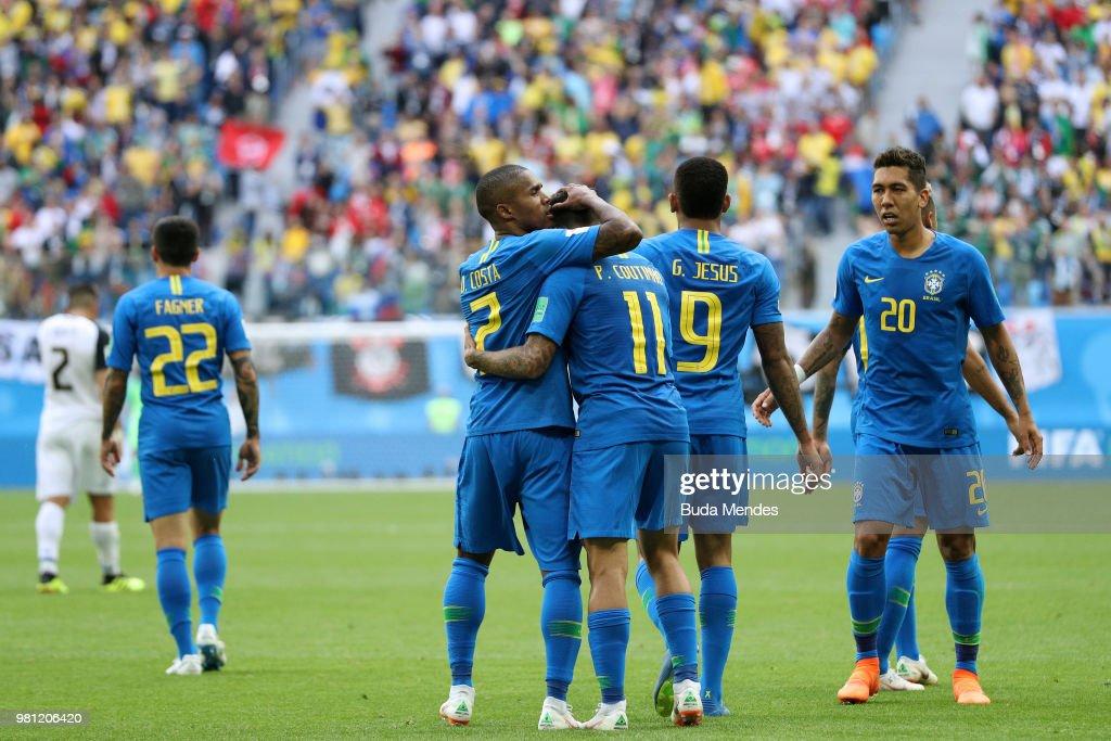 Brazil v Costa Rica: Group E - 2018 FIFA World Cup Russia : Foto jornalística