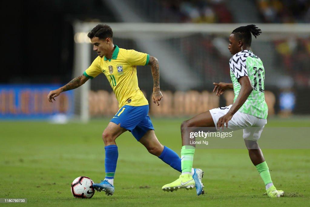 Brazil v Nigeria - International Friendly : News Photo