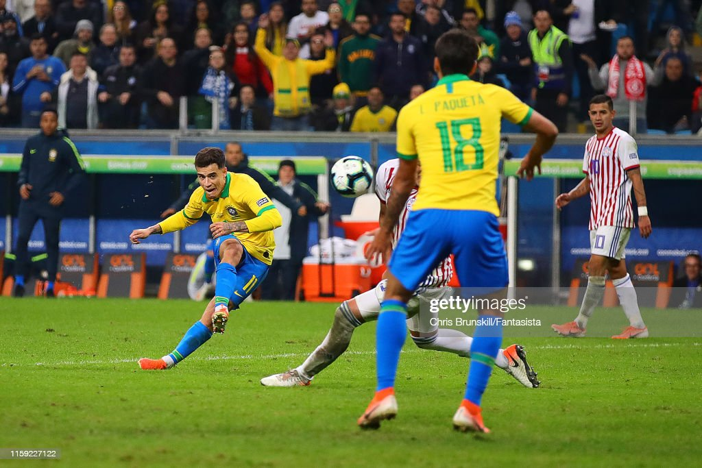 Brazil v Paraguay: Quarterfinal - Copa America Brazil 2019 : News Photo