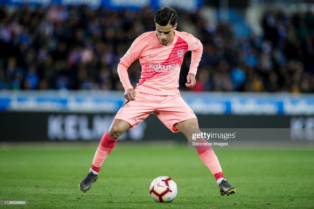 Deportivo Alaves v FC Barcelona - La Liga Santander : News Photo