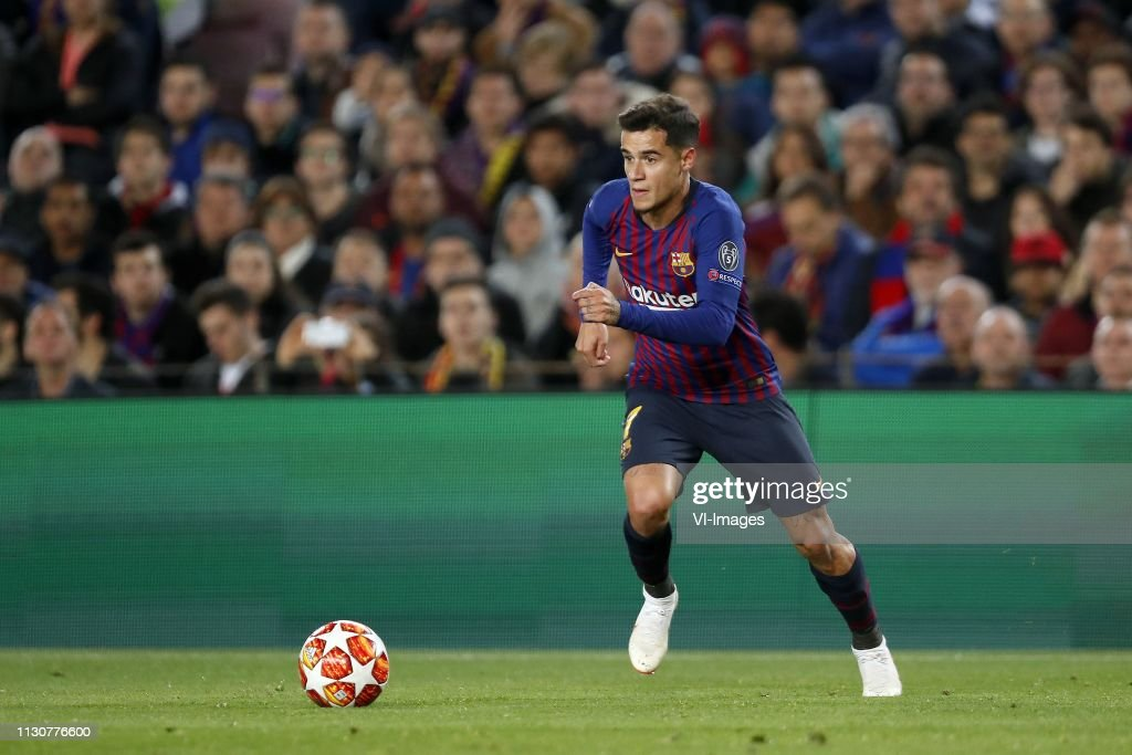 UEFA Champions League'FC Barcelona v Olympique Lyonnais' : News Photo