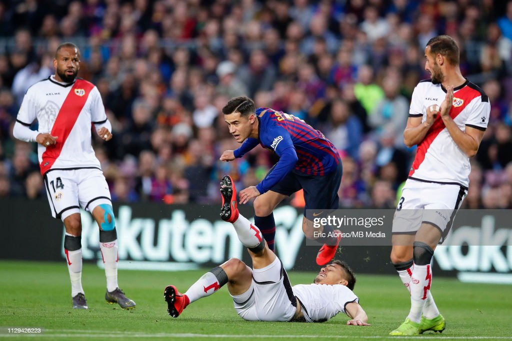 FC Barcelona v Rayo Vallecano de Madrid - La Liga : News Photo