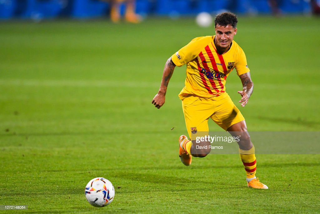 FC Barcelona v Gimnastic de Tarragona - Pre-Season Friendly : News Photo