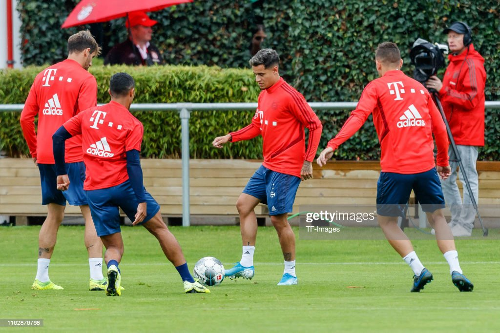 FC Bayern Muenchen Training Session : News Photo