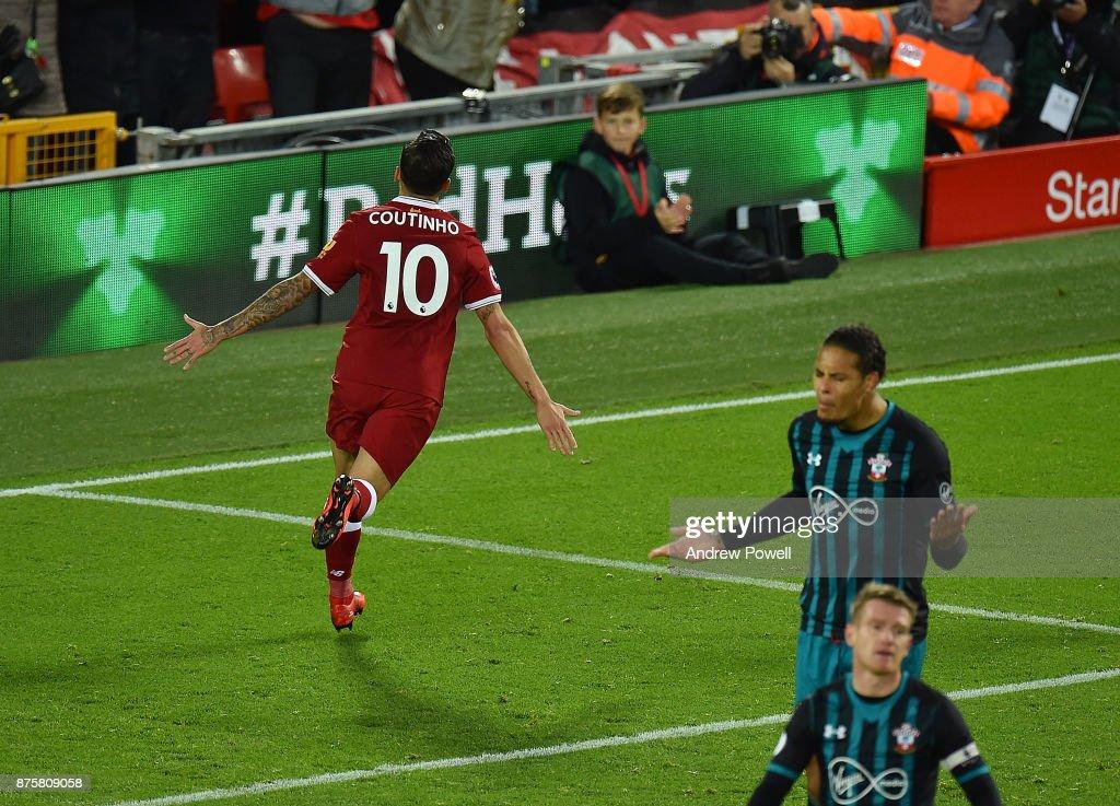 Liverpool v Southampton - Premier League : ニュース写真