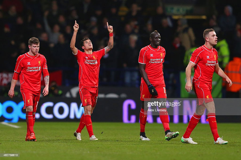 Bolton Wanderers v Liverpool - FA Cup Fourth Round Replay : News Photo