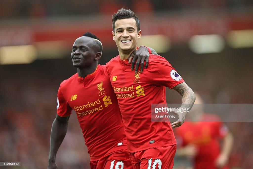 Liverpool v Hull City - Premier League : Nieuwsfoto's