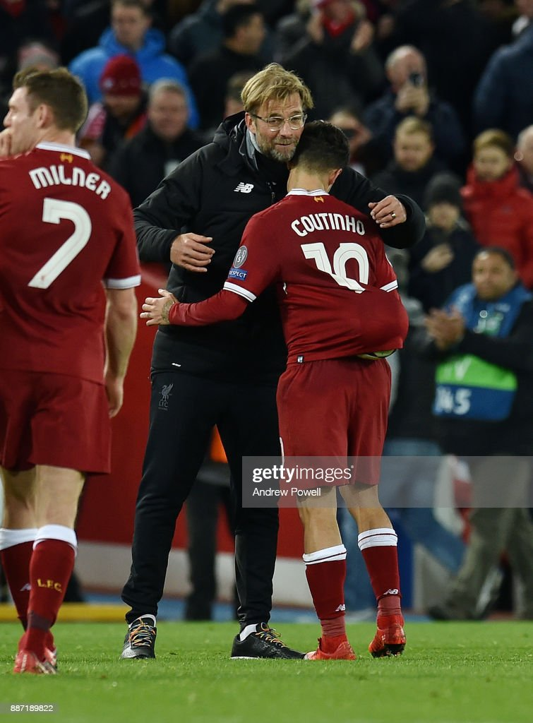 Liverpool FC v Spartak Moskva - UEFA Champions League : News Photo