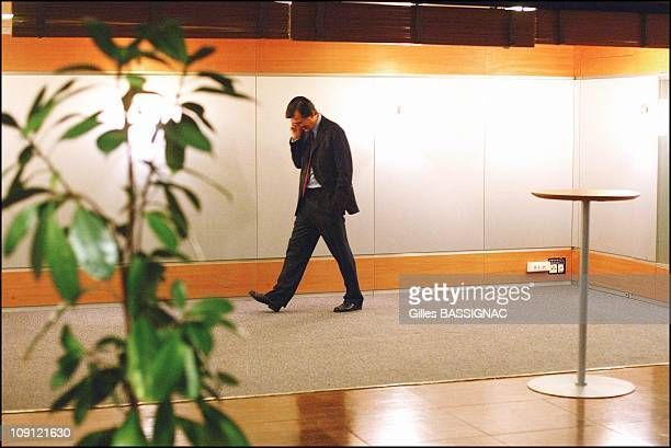 Philippe Douste Blazy Minister of Health On May 18 2004 In Paris France Philippe Douste Blazy During the Tv Show on France 2 Channel 100 Minutes Pour...