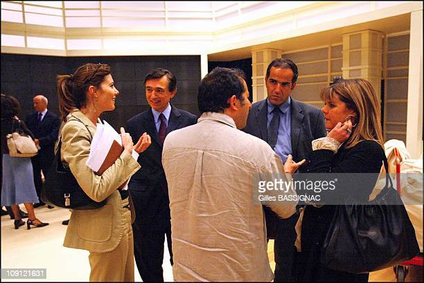 Philippe Douste Blazy Minister Of Health On May 18 2004 In Paris France Philippe Douste Blazy at the TV show on France 2 100 Minutes to Convince With...
