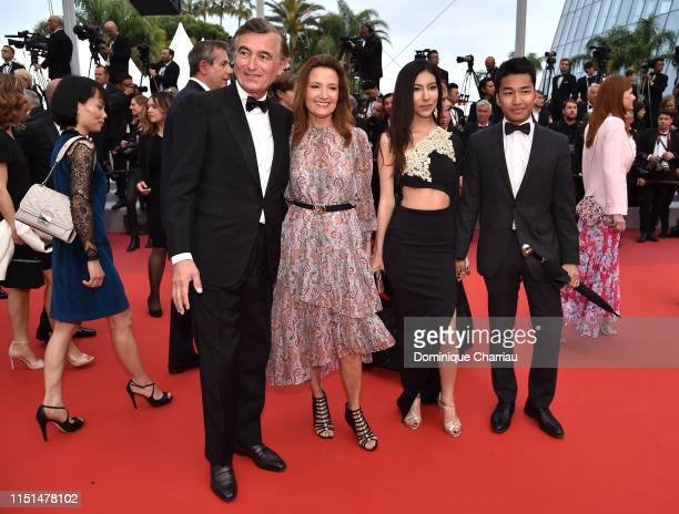 Philippe DousteBlazy MarieYvonne DousteBlazy and guests attend the screening of Rambo Last Blood during the 72nd annual Cannes Film Festival on May...