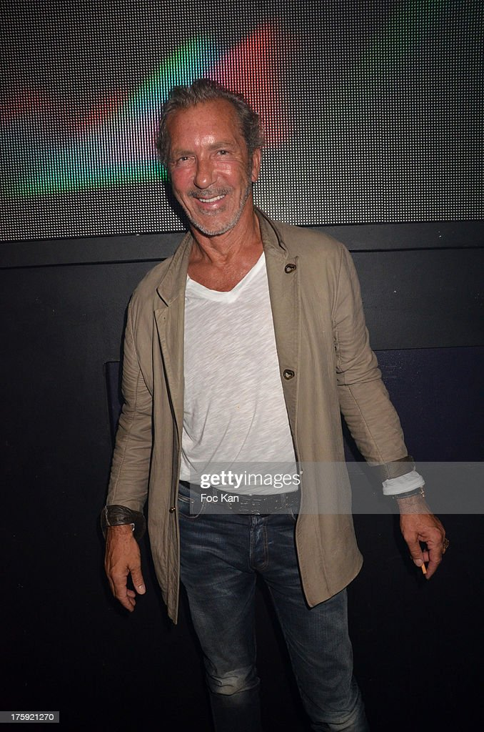Philippe Fatien CEO from Castel and Queen Club attends the David Guetta Party at The Gotha Club on August 3, 2013 in Saint Tropez, France.