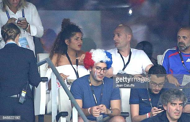 Philippe Fragione aka Akhenaton attends the UEFA Euro 2016 semifinal match between Germany and France at Stade Velodrome on July 7 2016 in Marseille...