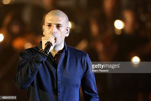 Philippe Fragione aka Akhenaton performs during the 30th 'Victoires de la Musique' French Music Awards Ceremony at le Zenith on February 13 2015 in...