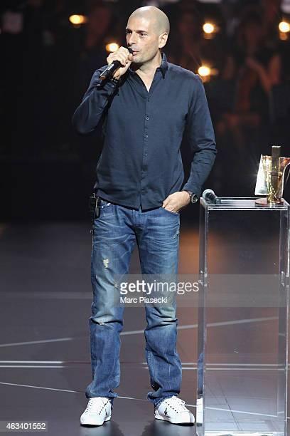 Philippe Fragione aka Akhenaton receives the urban music award for the album 'Je suis en vie' during the 30th 'Victoires de la Musique' French Music...