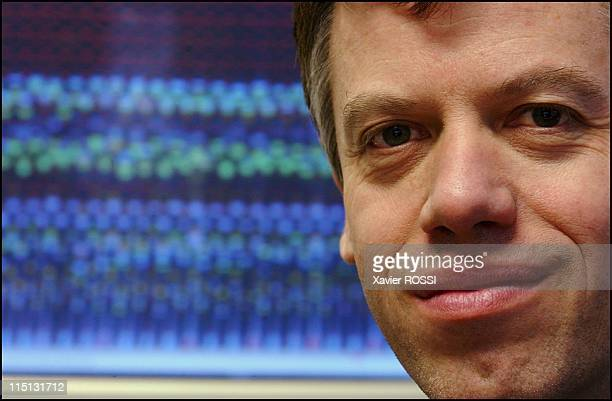 Philippe Froguel director of the multifactorial disease genomics lab at the Lille Institute of Biology in Lille France on November 21 2003