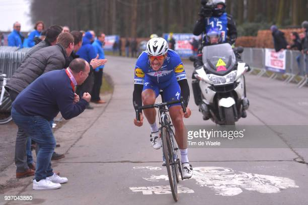 Philippe Gilbert of Belgium and Team QuickStep Floors / during the 61st E3 Harelbeke 2018 a 2064km race from Harelbeke to Harelbeke on March 23 2018...
