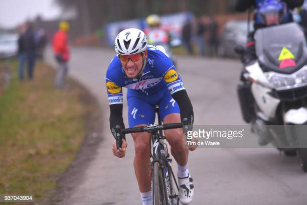 Philippe Gilbert of Belgium and Team Quick-Step Floors / during the 61st E3 Harelbeke 2018 a 206,4km race from Harelbeke to Harelbeke on March 23,...